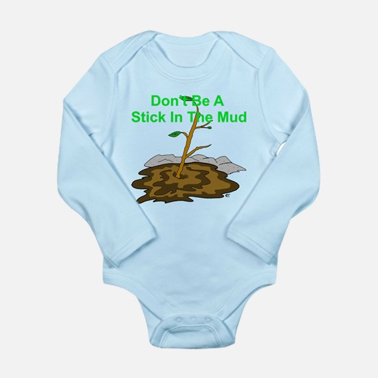 Cute Uplifting thoughts Long Sleeve Infant Bodysuit