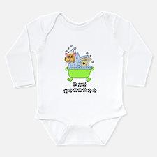 Pet Groomer Long Sleeve Infant Bodysuit