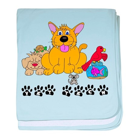 Pet Vet Tech baby blanket