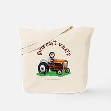 Light Orange Farmer Tote Bag