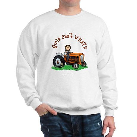 Light Orange Farmer Sweatshirt