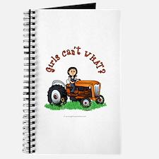 Light Orange Farmer Journal
