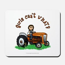 Light Orange Farmer Mousepad