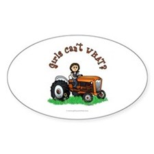 Light Orange Farmer Decal