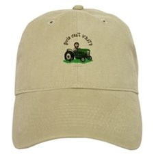 Light Green Farmer Baseball Cap