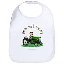 Light Green Farmer Bib