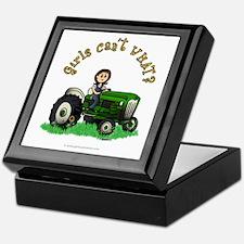 Light Green Farmer Keepsake Box
