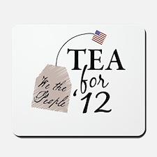 Vote Tea Party 2012 Mousepad