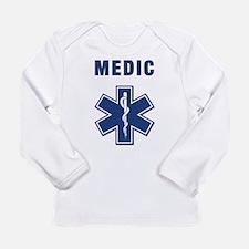 Medic and Paramedic Long Sleeve Infant T-Shirt