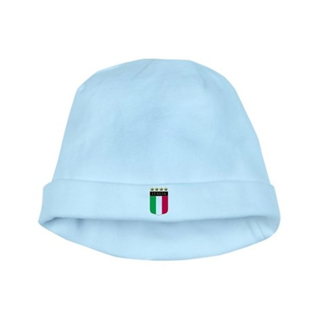 Italian 4 Star flag baby hat