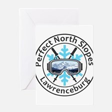 Perfect North Slopes - Lawrencebu Greeting Cards