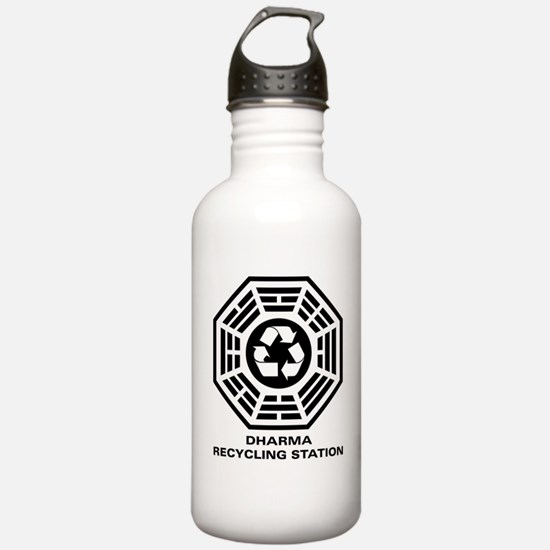 DHARMA Recycling Station Water Bottle