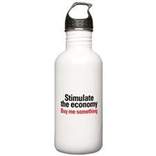 Stimulate The Economy Water Bottle