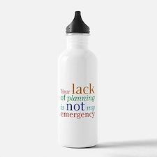 Planning Water Bottle