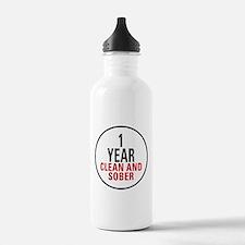 1 Year Clean & Sober Water Bottle