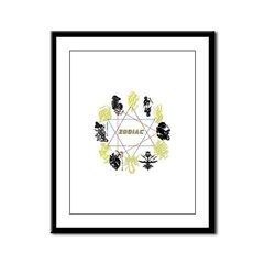 Zodiac Framed Panel Print