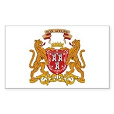 Aberdeen Coat of Arms Rectangle Decal