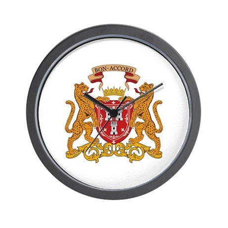 Aberdeen Coat of Arms Wall Clock