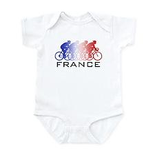 France Cycling Infant Bodysuit