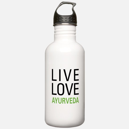 Live Love Ayurveda Sports Water Bottle
