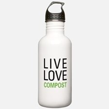 Live Love Compost Water Bottle