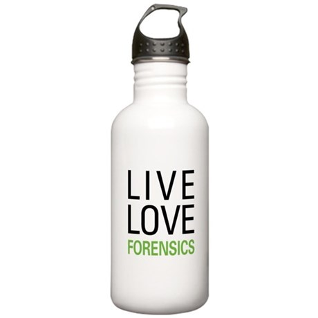 Live Love Forensics Stainless Water Bottle 1.0L