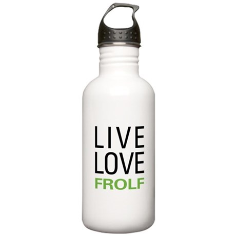 Live Love Frolf Stainless Water Bottle 1.0L
