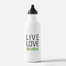 Live Love Guide Water Bottle