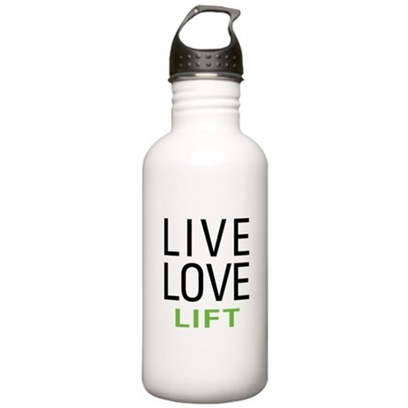 Live Love Lift Stainless Water Bottle 1.0L