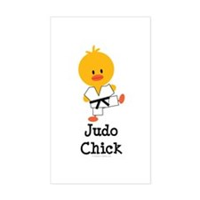 Judo Chick Decal