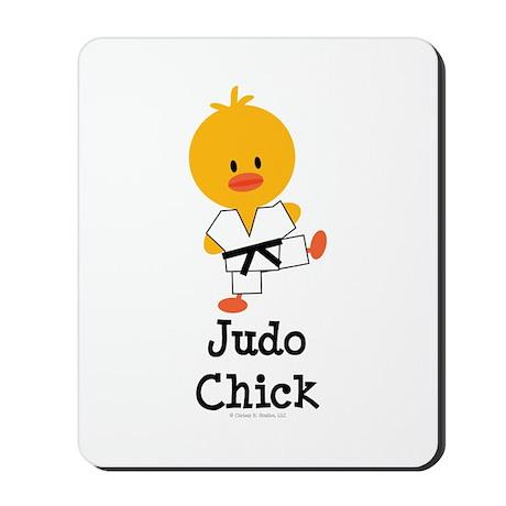 Judo Chick Mousepad