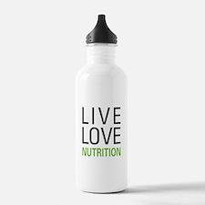 Live Love Nutrition Water Bottle