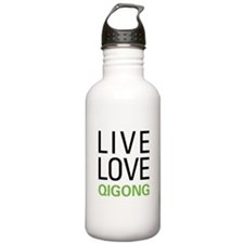 Live Love Qigong Sports Water Bottle