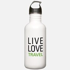 Live Love Travel Sports Water Bottle
