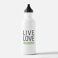 Live Love Volunteer Water Bottle