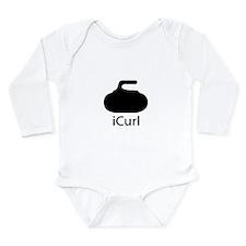 iCurl Long Sleeve Infant Bodysuit