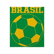 Brasil Futebol Throw Blanket