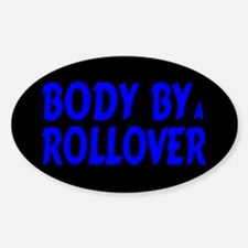 Body by Rollover Oval Decal
