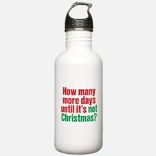 Not Christmas Water Bottle