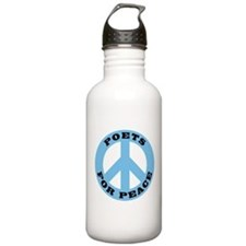 Poets For Peace Water Bottle