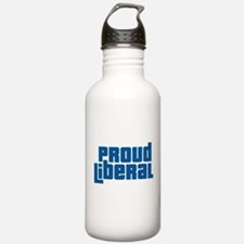 Proud Liberal Water Bottle