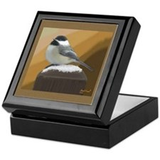 Chickadee Keepsake Box