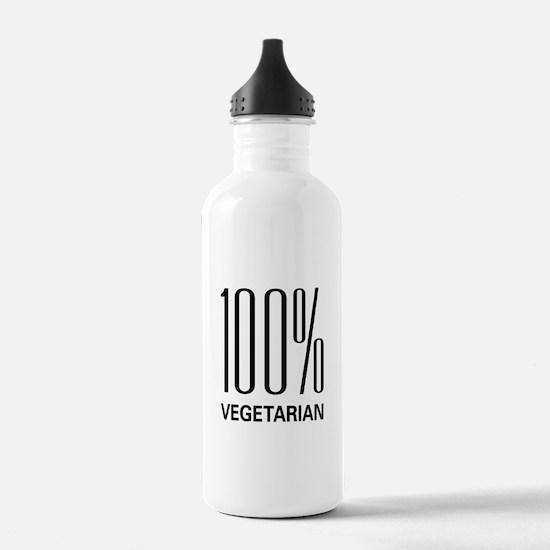 100% Vegetarian Water Bottle
