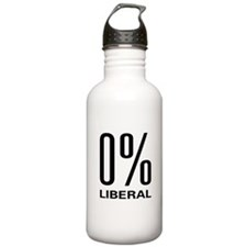 0% Liberal Water Bottle