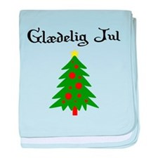 Danish Christmas Tree baby blanket