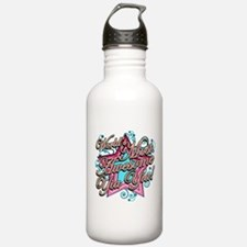 Worlds Most Awesome Yia Yia Water Bottle