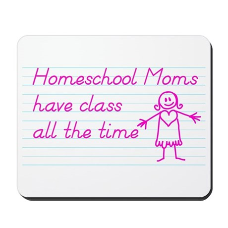 Classy Homeschool Mom Mousepad