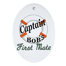 Captain Bob's Ornament (Oval)
