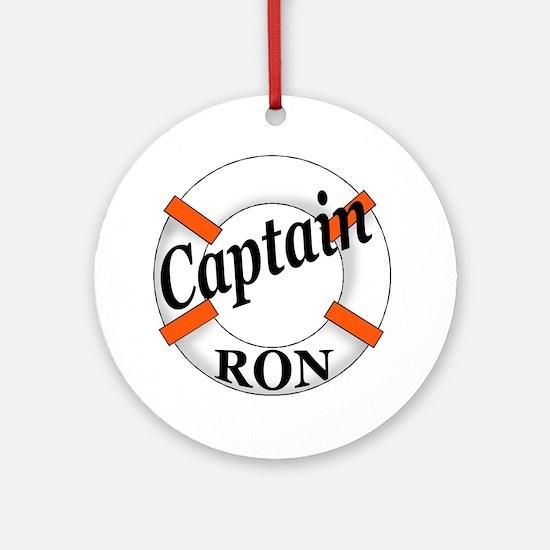 Captain Ron Ornament (Round)