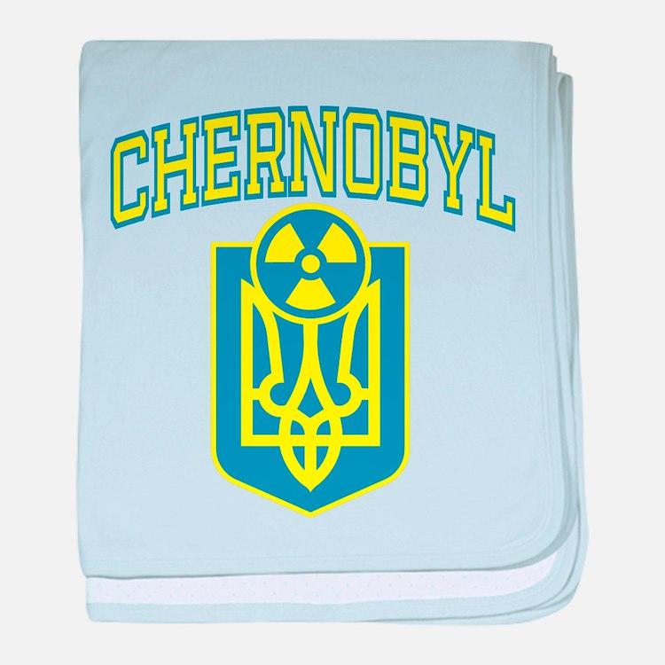 Chernobyl English baby blanket